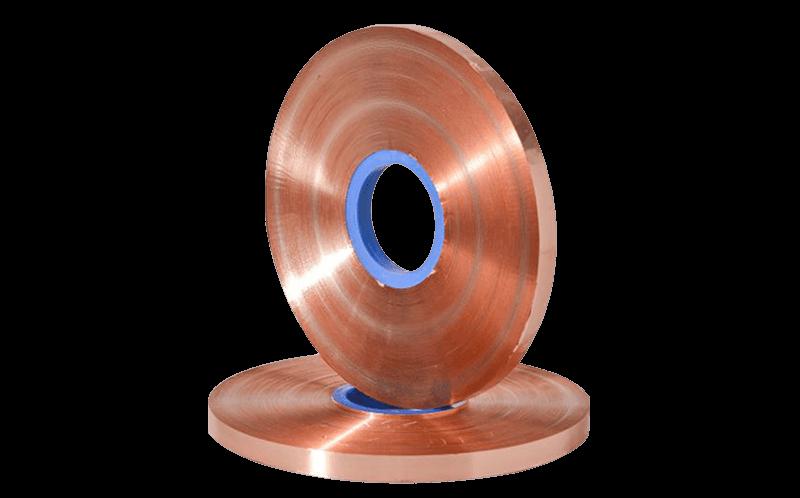 Медная лента 0,1 мм для кабеля